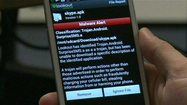 mobiele malware